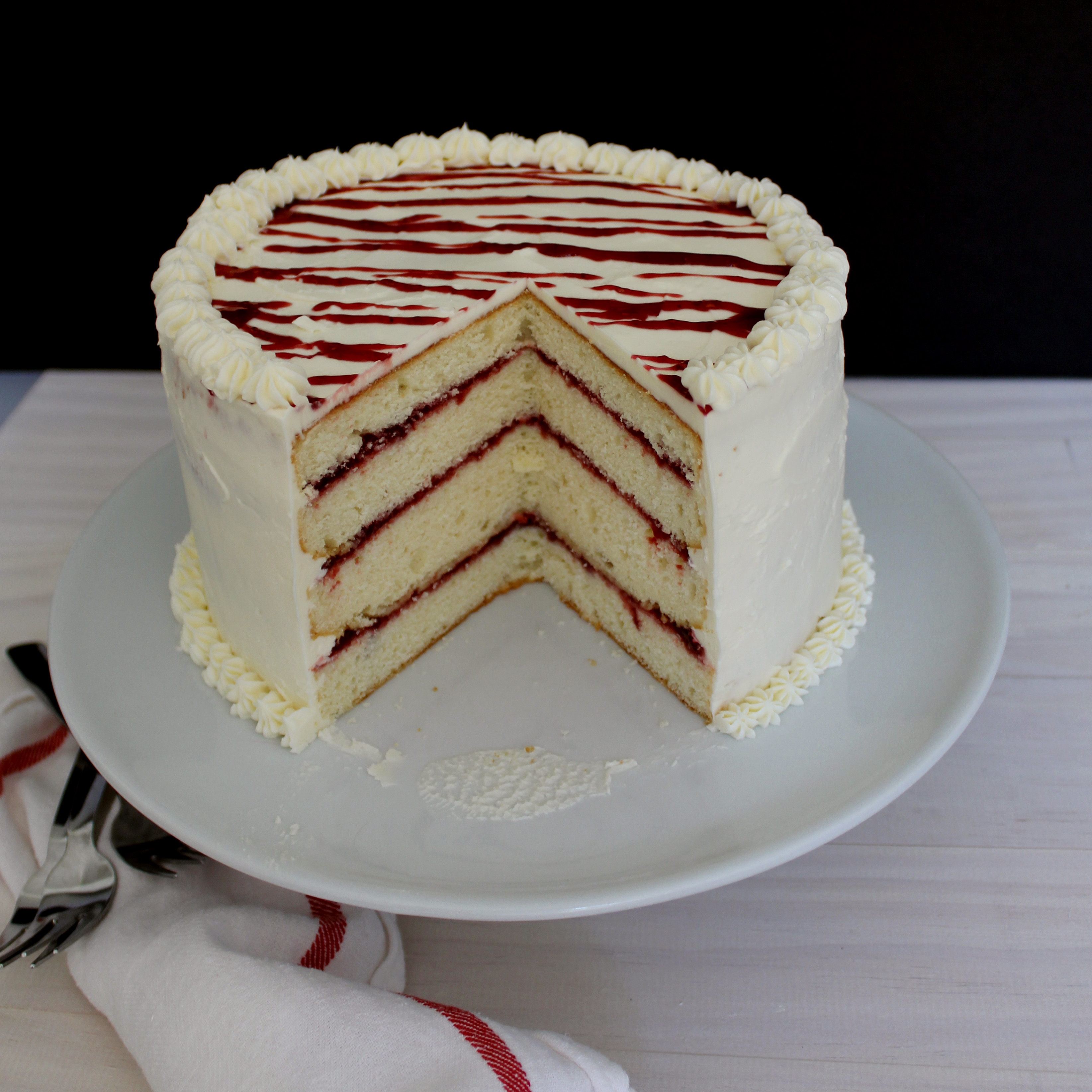 Raspberry and White Chocolate Cake Plus Enter to Win a KitchenAid ...