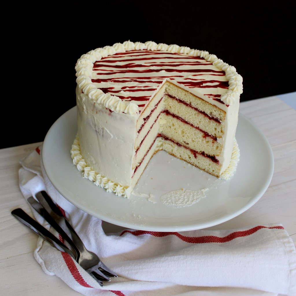 Raspberry White Chocolate Cake|The Crafting Foodie