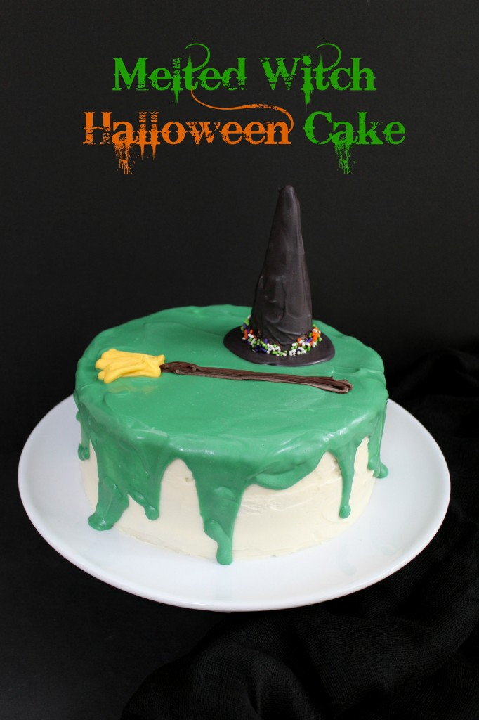 Melted Witch Halloween Cake|The Crafting Foodie