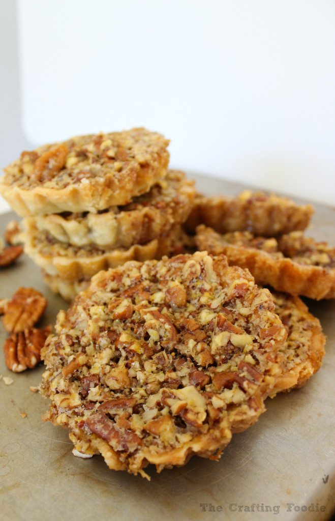 Maple Pecan Tarts|The Crafting Foodie