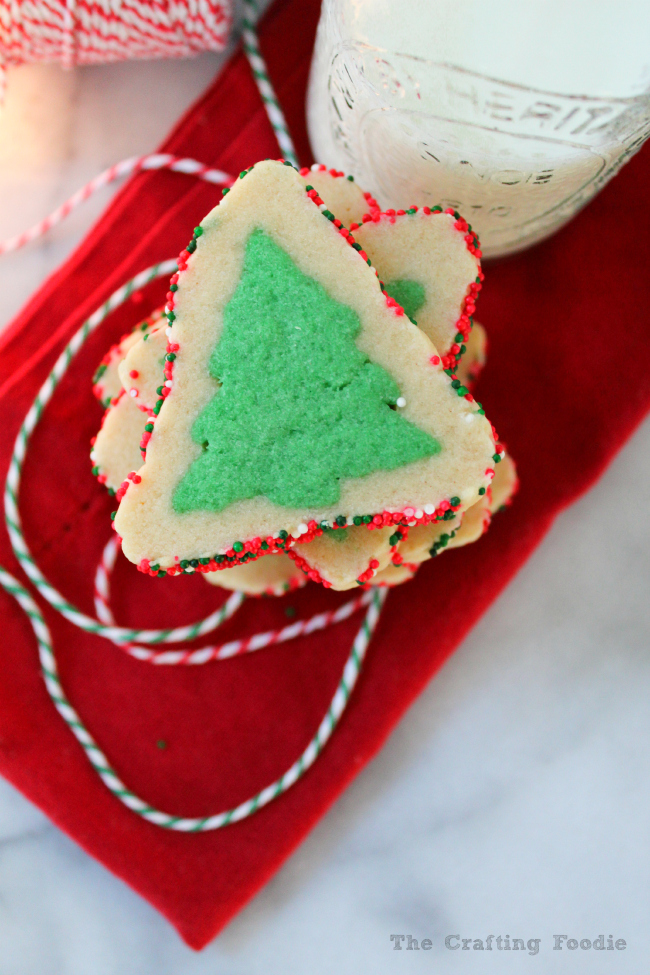 Simple Everygreen Sugar Cookies