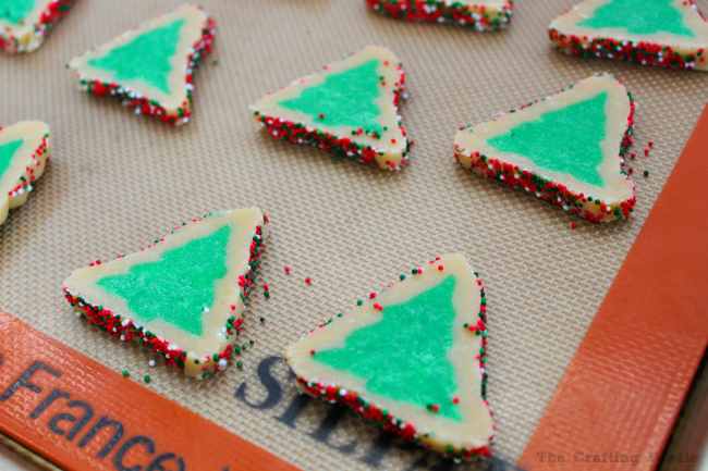 Evergreen Sugar Cookies|The Crafting Foodie