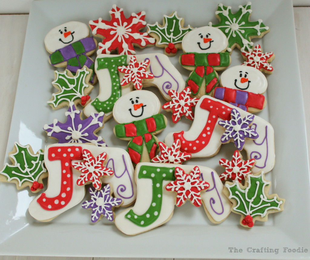 Holiday Joy Decorated Cookies