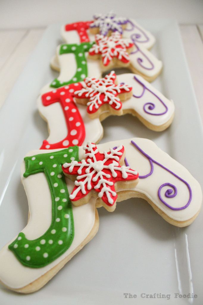 Holiday Joy Sugar Cookies|The Crafting Foodie