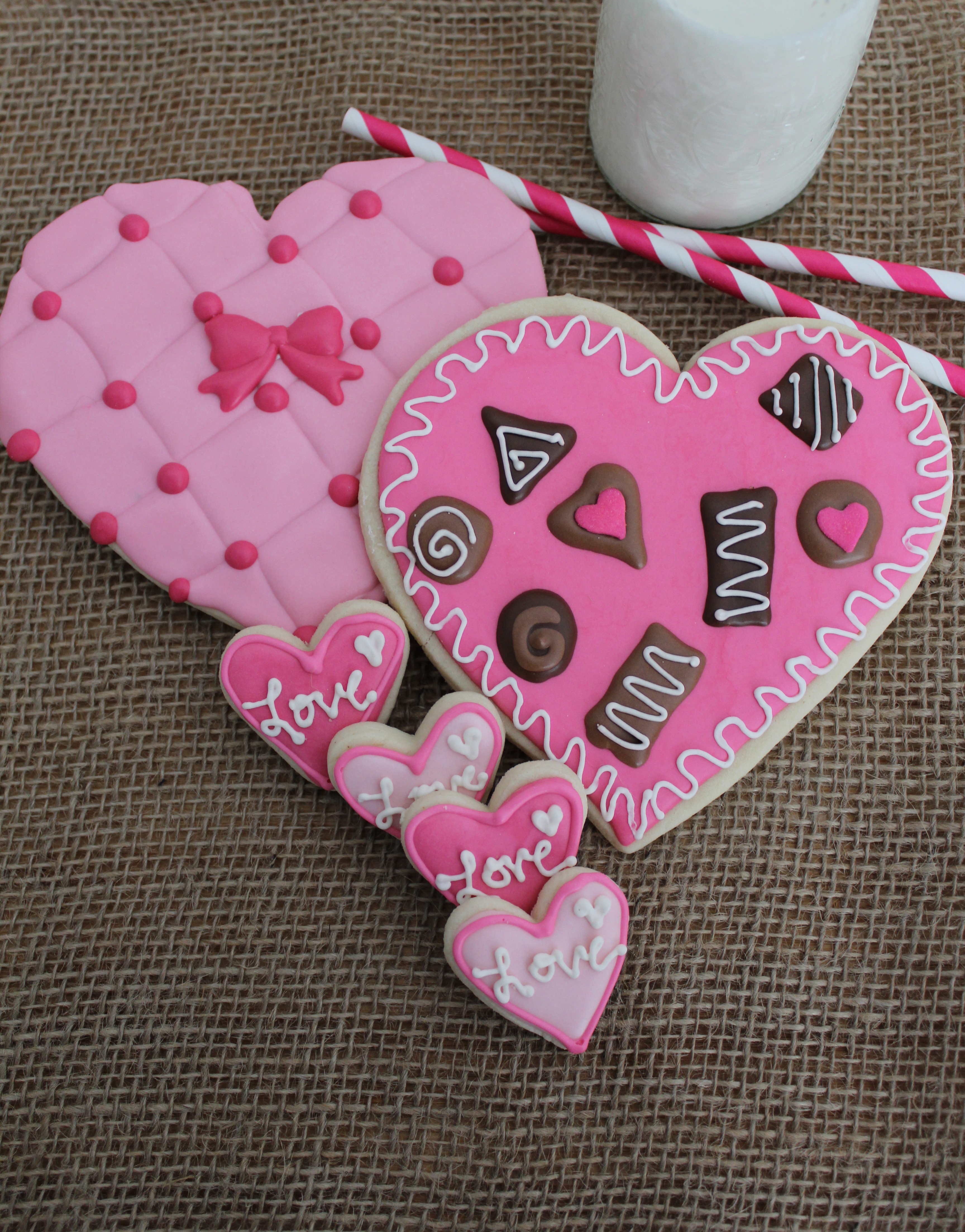 Chocolate Box Sugar Cookies For Valentine S Day