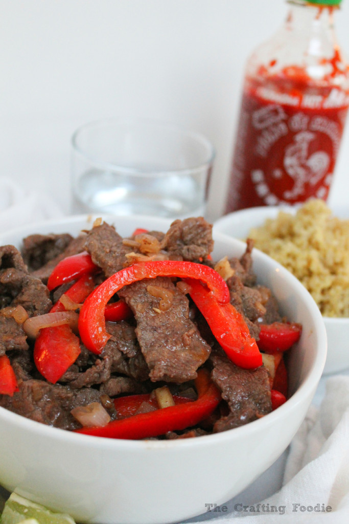 Thai Style Beef Stiry Fry|The Crafting Foodie