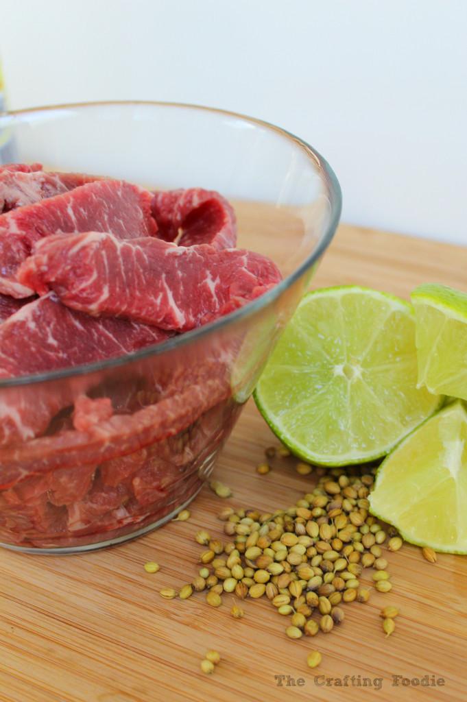 Thai Style Beef Stir Fry