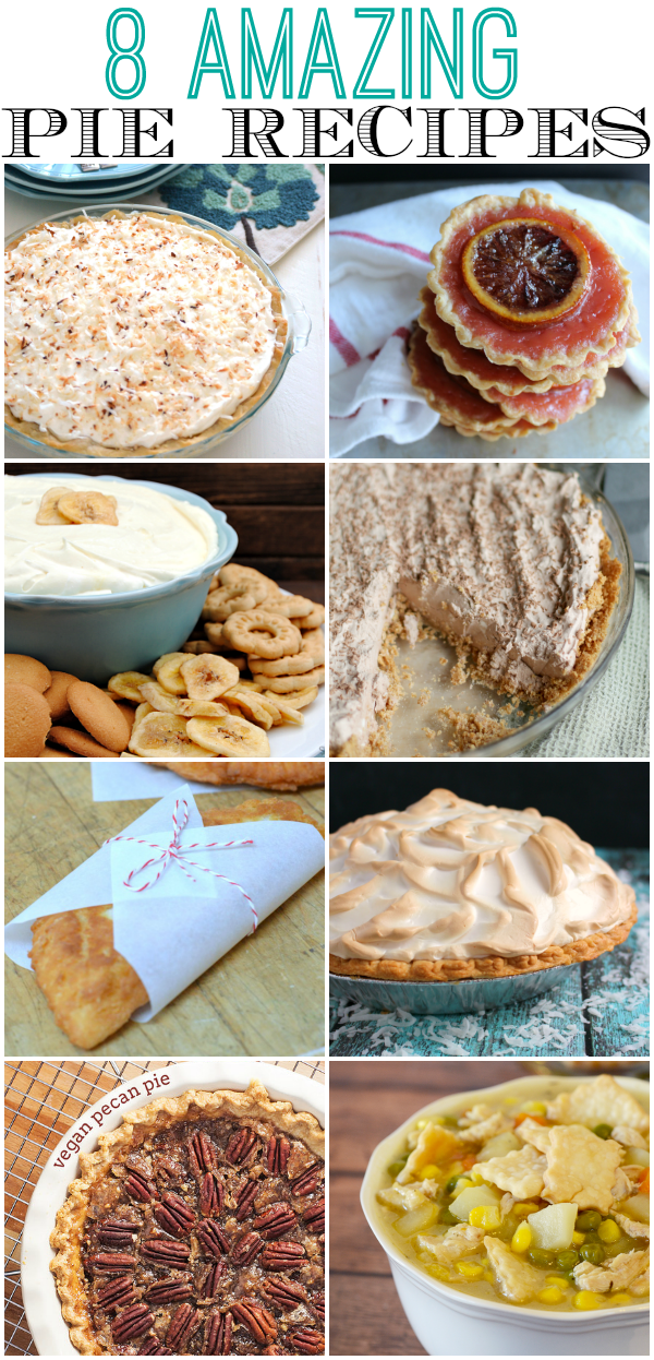 Blood Orange Pies to Celebrate Pi Day|The Crafting Foodie