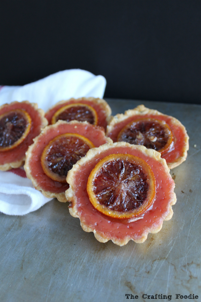 Blood Orange Pies for Pi Day|The Crafting Foodie