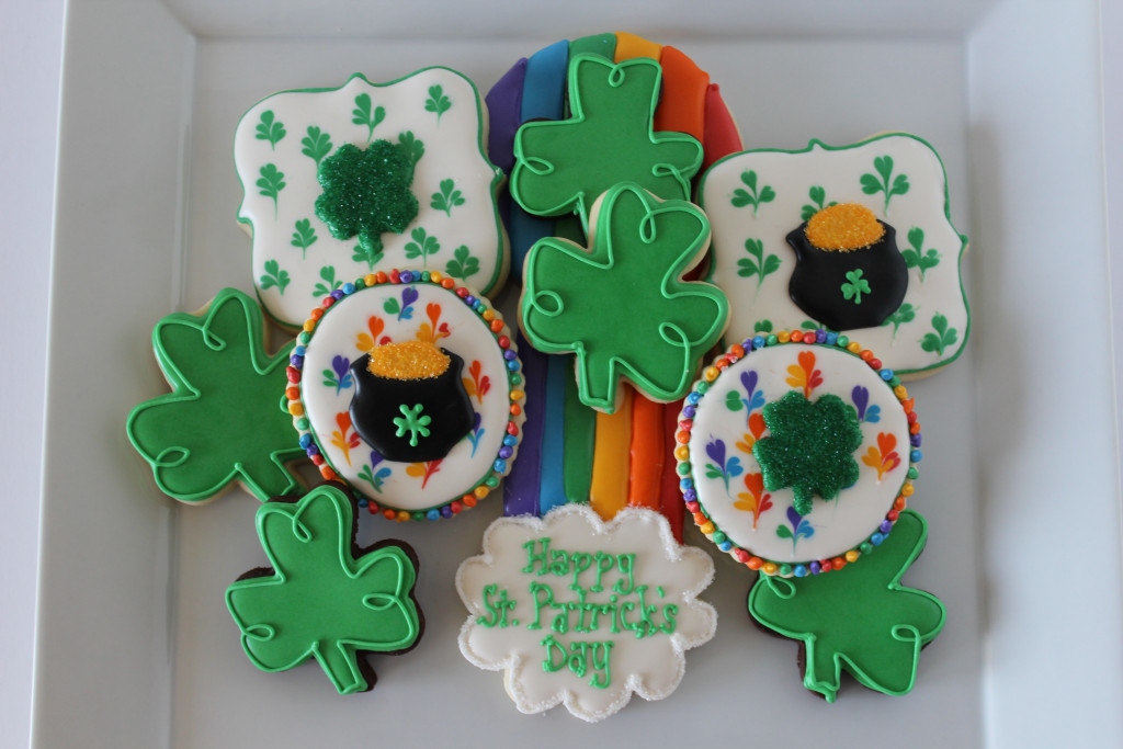 St. Patty's Day Sugar Cookies|The Crafting Fodie