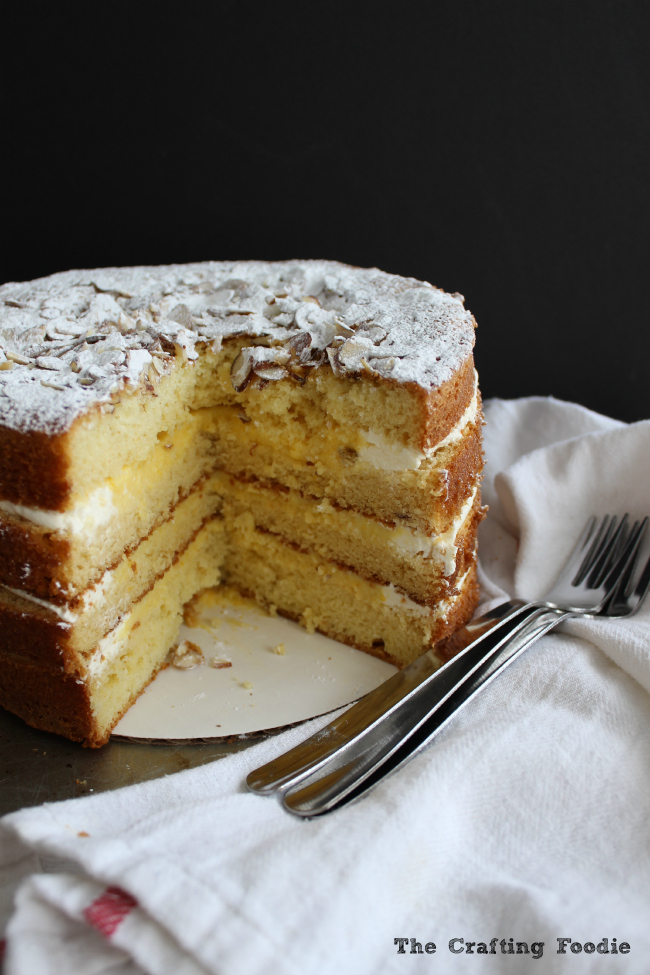 Lemon Cake|The Crafting Foodie
