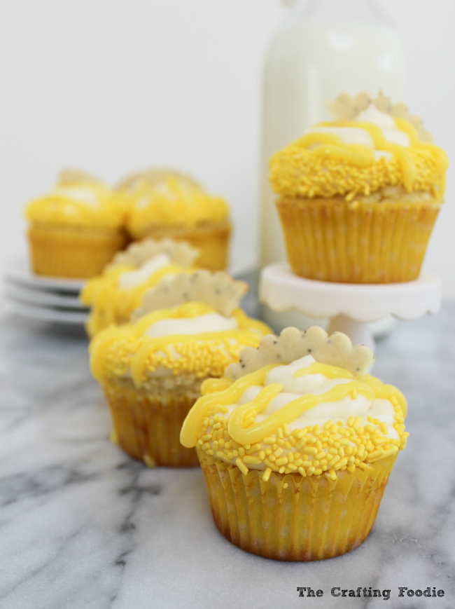 Fresh Lemon Cupcakes