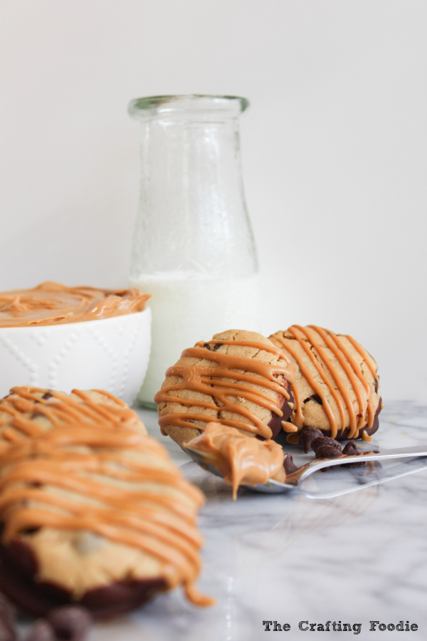 S'more Cookies with Peanut Butter|The Crafting Foodie
