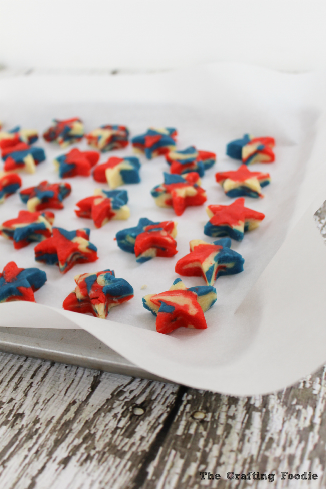 Patriotic Star Cake Pops|The Crafting Foodie