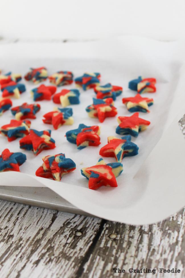 Patriotic Star Cake Pops|The Crafting Foodie