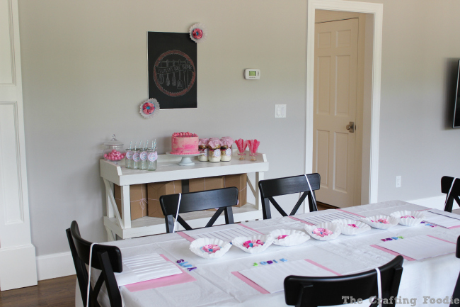 Bake Shoppe Birthday Party|The Crafting Foodie