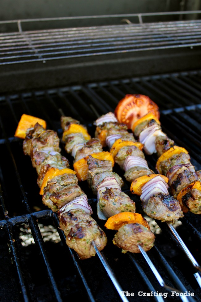 Indian Lamb Kabobs on the Gill|The Crafting Foodie