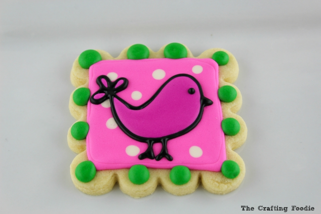 Using a Paper Template to Decorate Cookies The Crafting Foodie