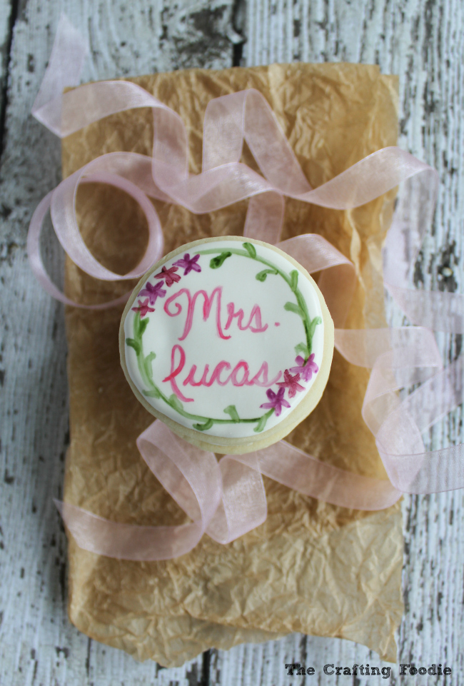 Hand Painted Thank You Cookies|The Crafting Foodie