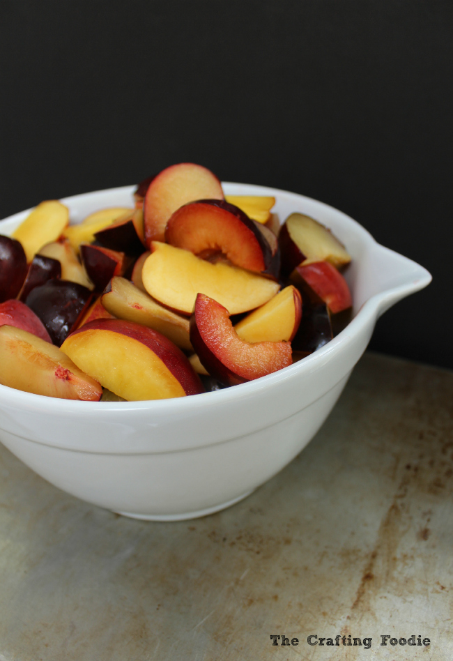 Skillet Stone Fruit Galette|The Crafting Foodie
