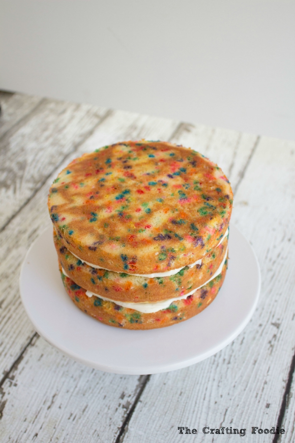 Homemade Funfetti Cake|The Crafting Foodie