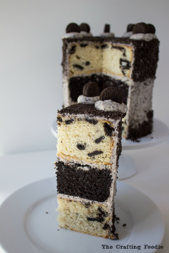 6-Inch Oreo Layer Cake|The Crafting Foodie