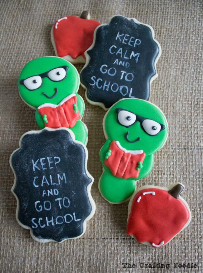 Back to School Cookies|The Crafting Foodie