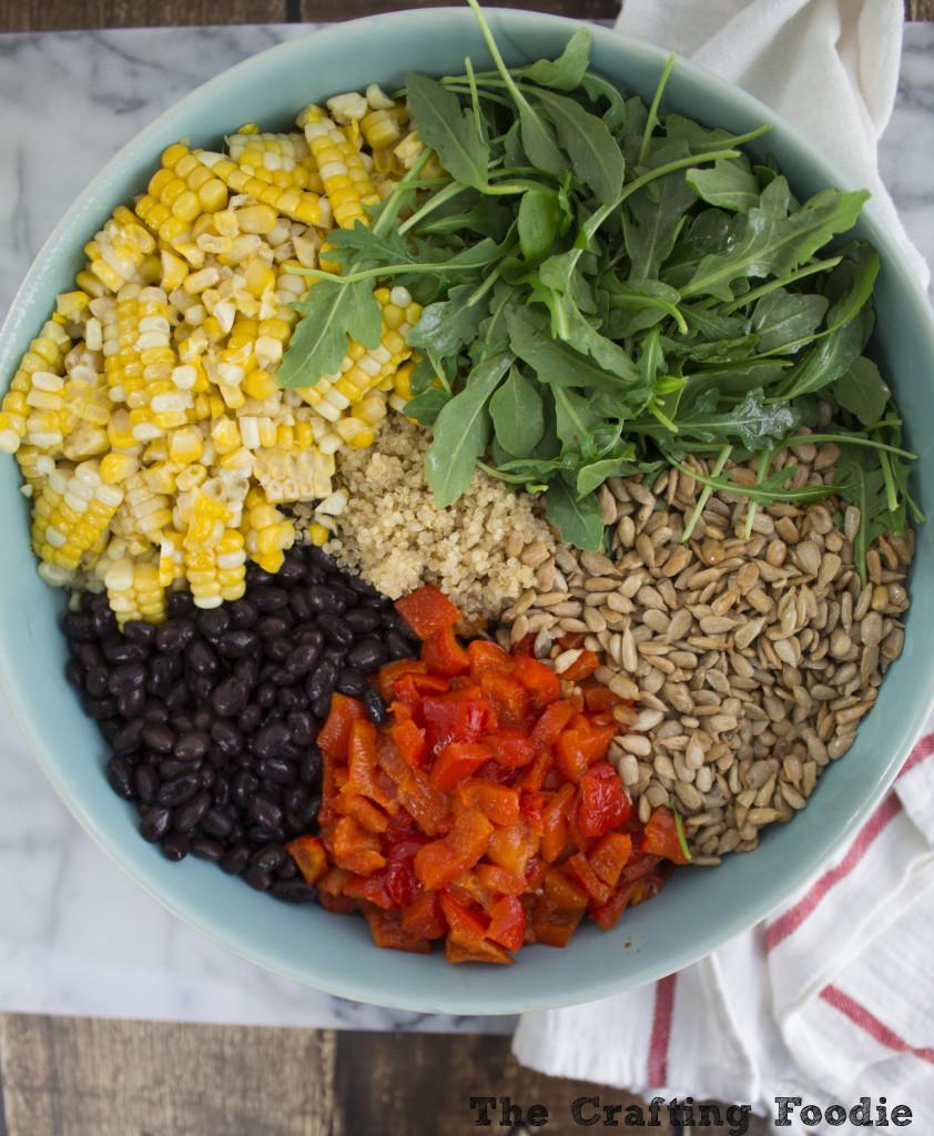 Southwest Quinoa Salad with Honey Lime Vinaigrette – Vegan, Gluten-Free