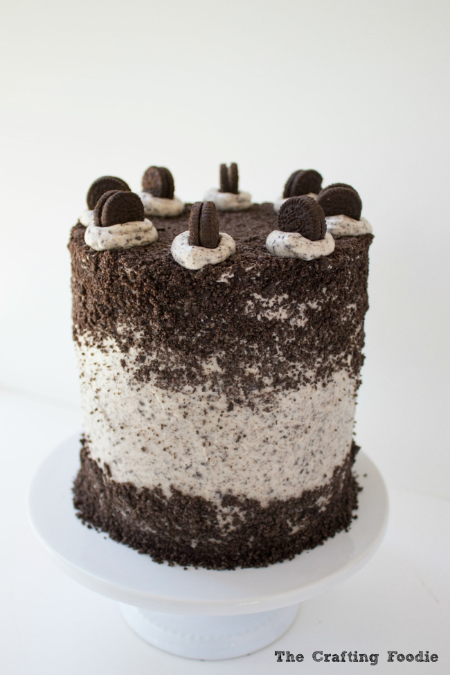 The Ultimate Oreo Layer Cake