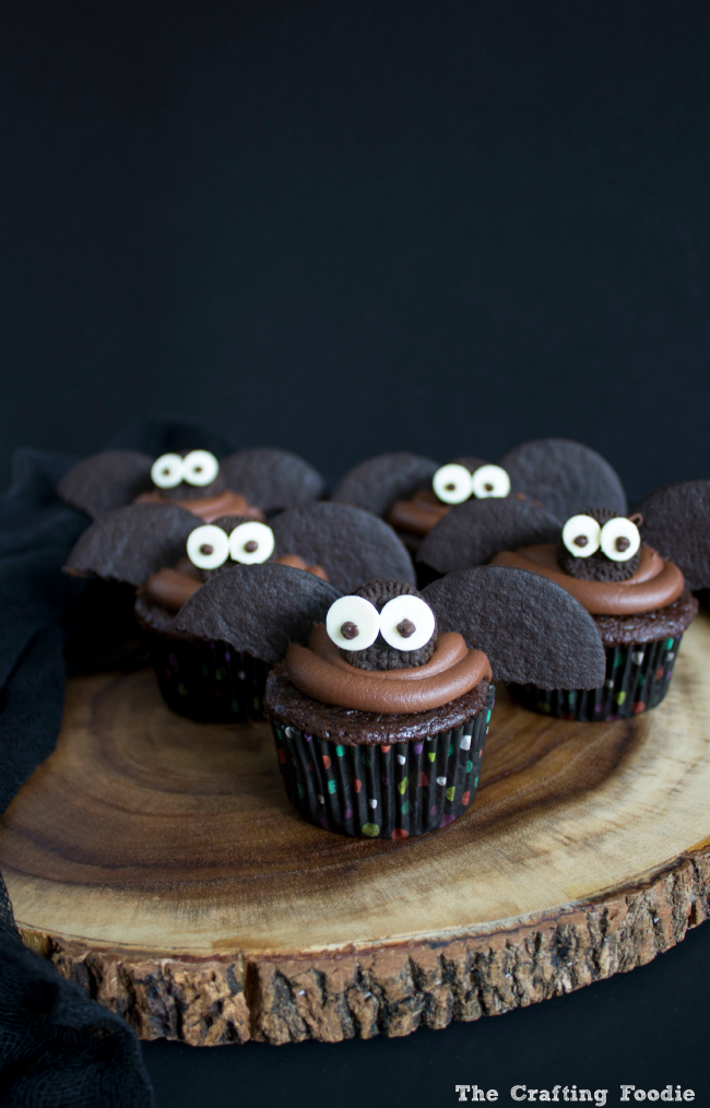 halloween bat cupcakes recipe