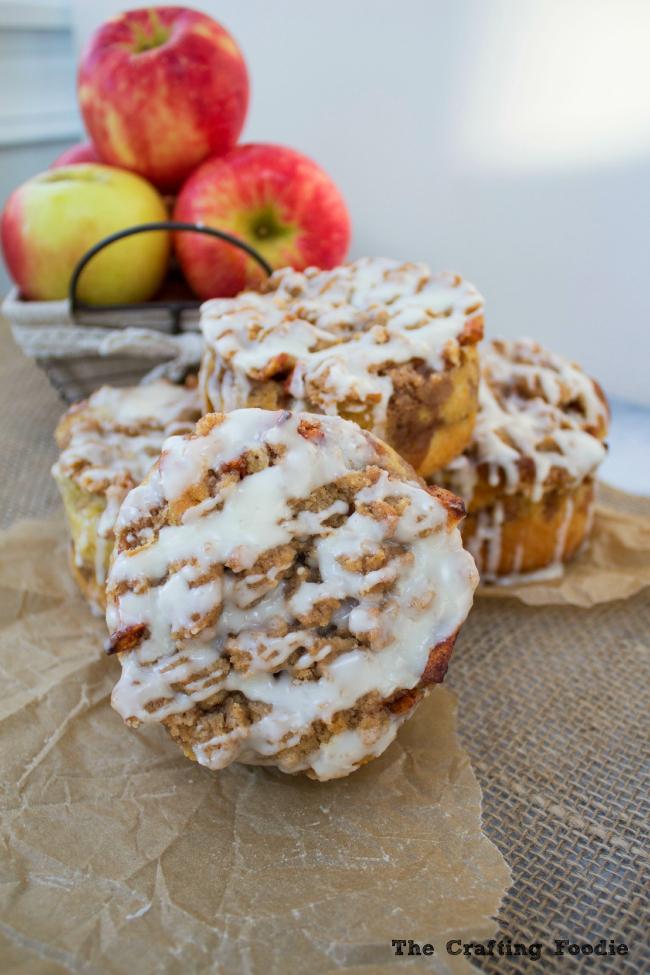 Apple Fritter Cakes