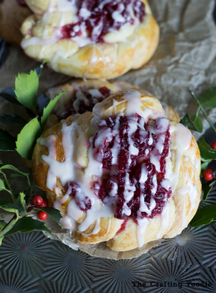 Cranberry Coffee Cake Pastries