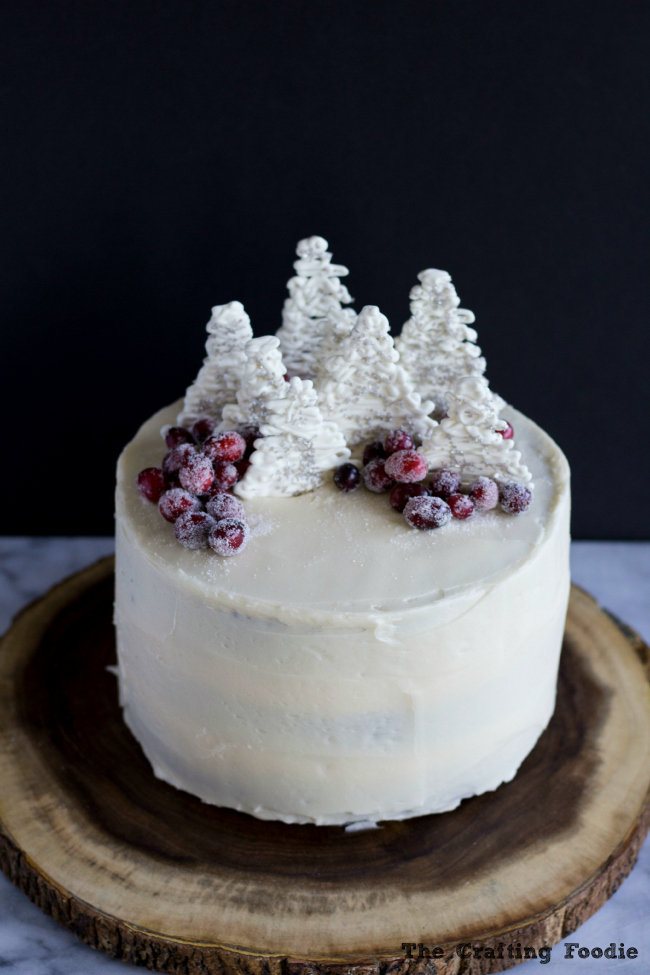 Gingerbread Layer Cake|The Crafting Foodie