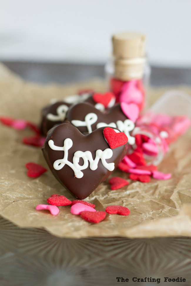 Chocolate Chip Cookie Dough Truffles For Valentine S Day