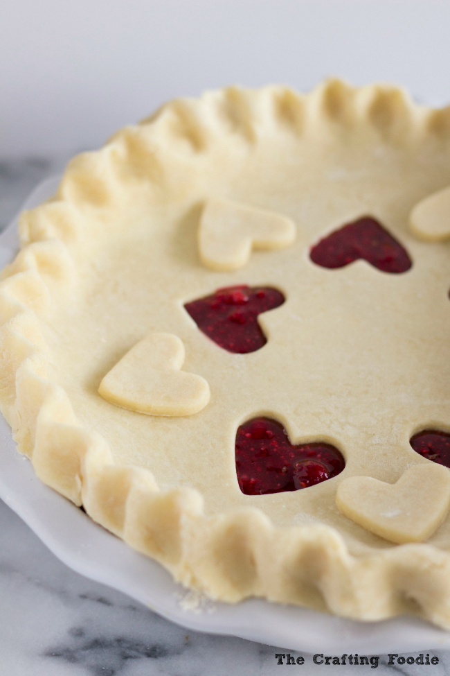 Raspberry Pie with an All-Butter CrustThe Crafting Foodie