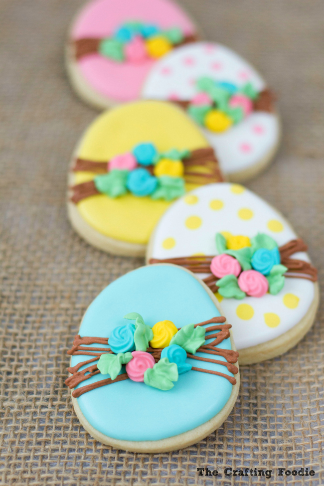 Bunny Easter Sugar Cookies with Royal IcingThe Crafting Foodie