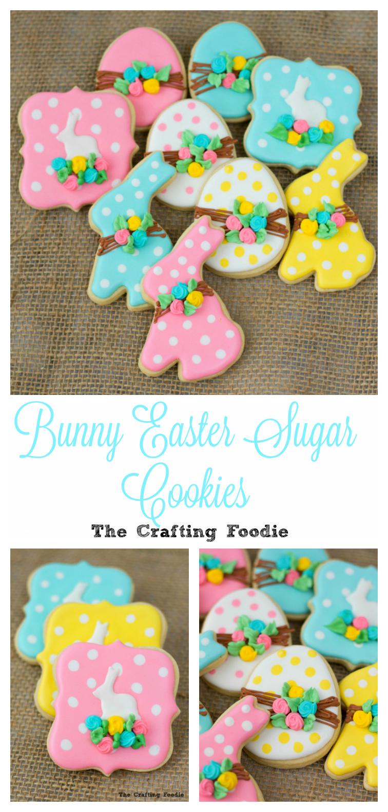 Bunny Sugar Cookies The Crafting Fodie
