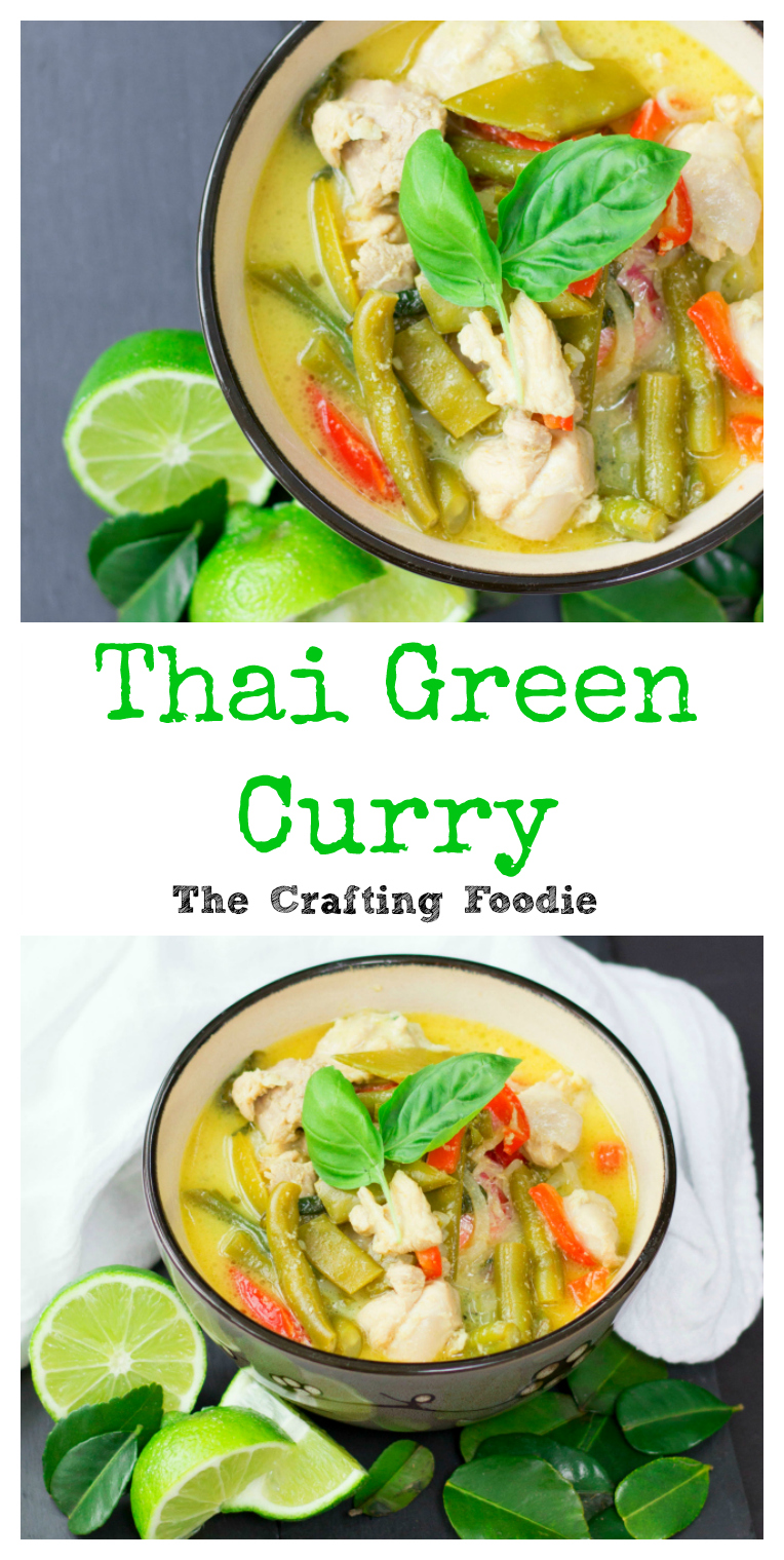 Thai Green Curry CollageThe Crafting Foodie