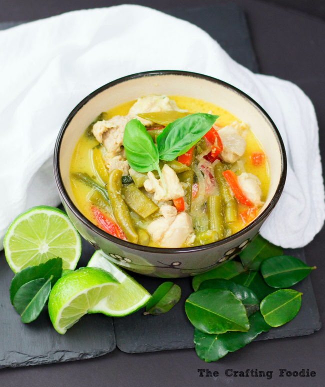 Thai Green Curry with CoconutThe Crafting Foodie
