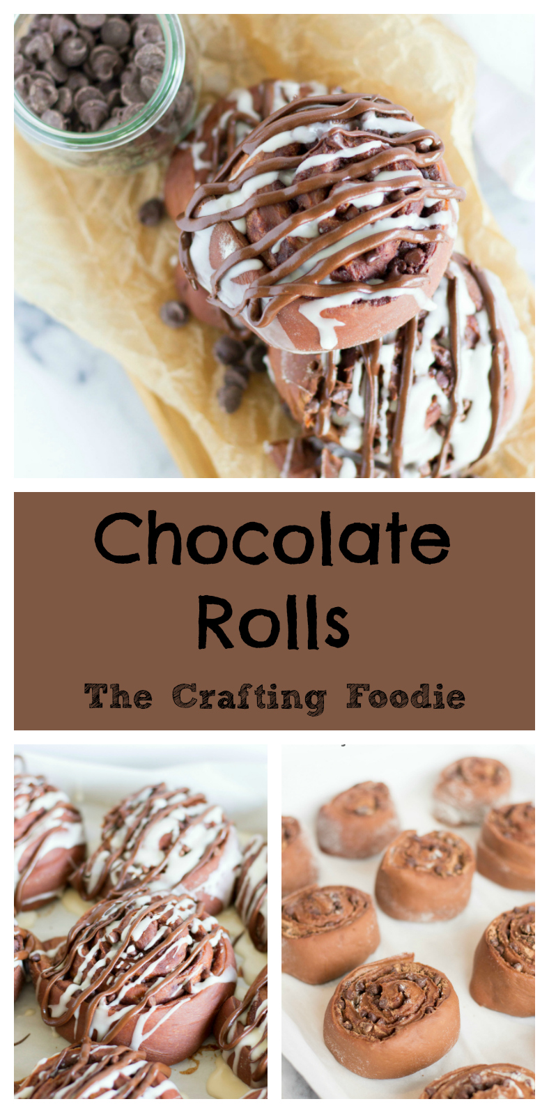 Chocolate Rolls The Crafting Foodie