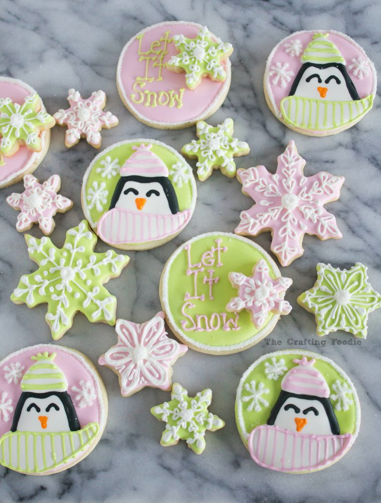Penguin Sugar Cookies