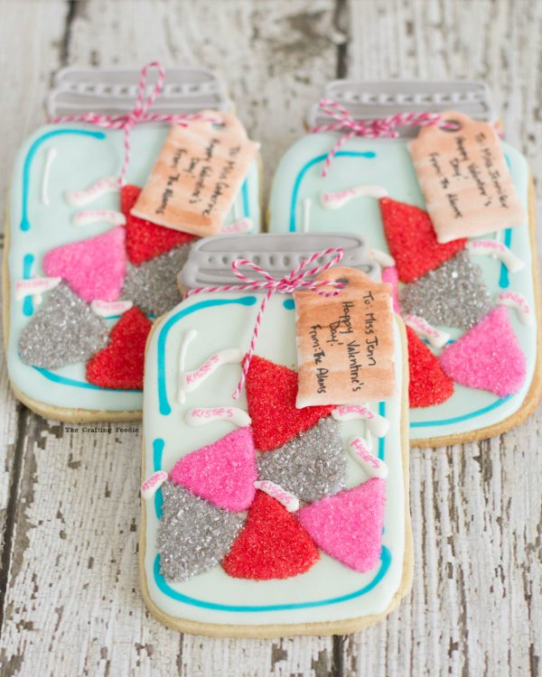 Valentine S Day Mason Jar Cookies