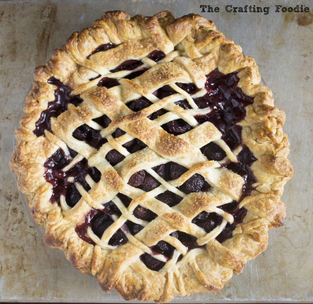 Cardamom Cherry Pie