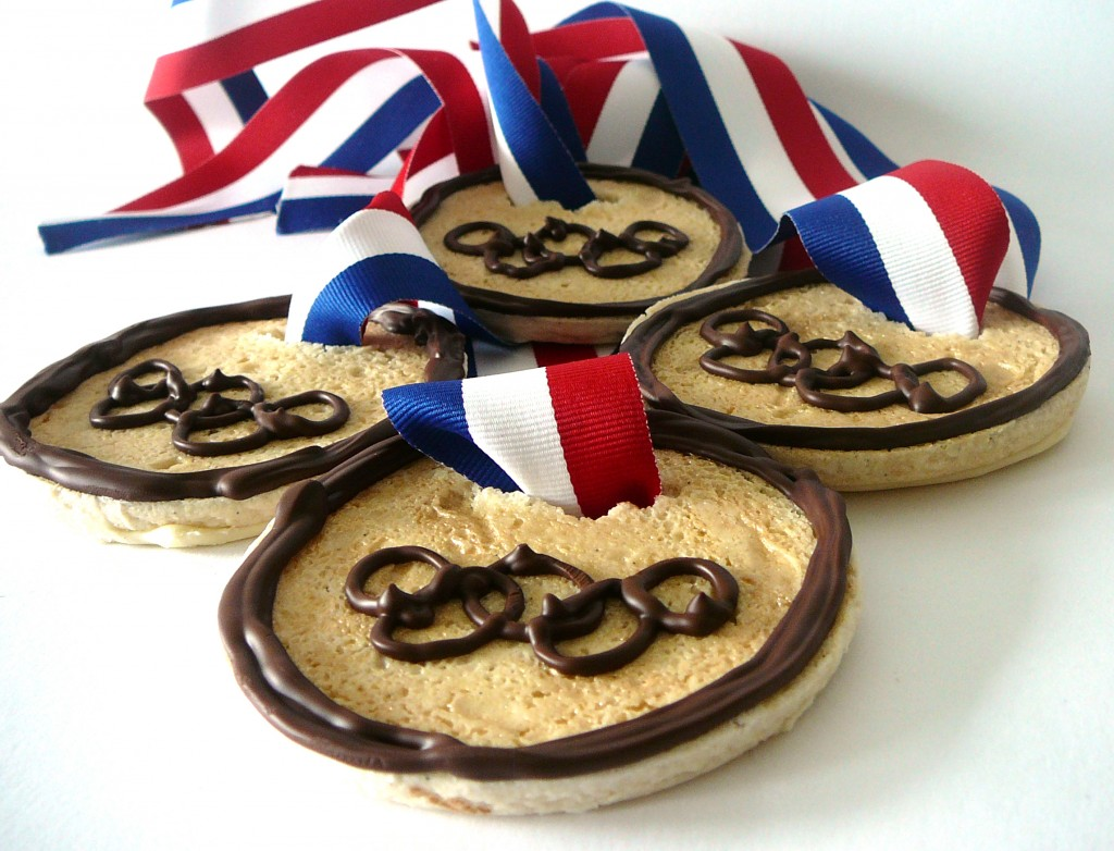 Olympic Crafts for Children – Gold Medal Cookies