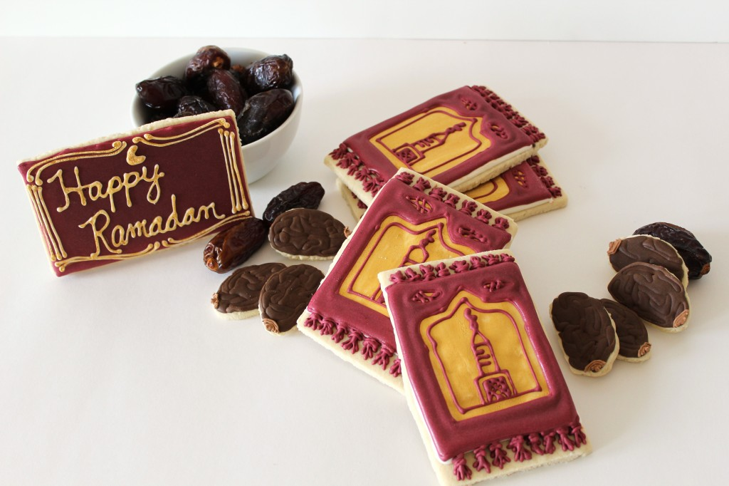 Ramadan Cookies – Dates and Prayer Rugs