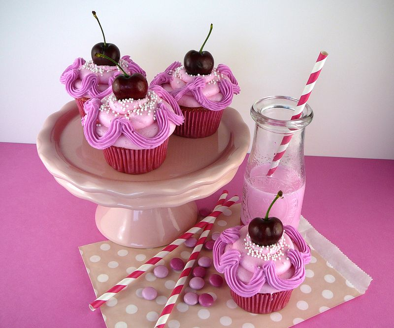 Pinkalicious Cupcakes | The Crafting Foodie