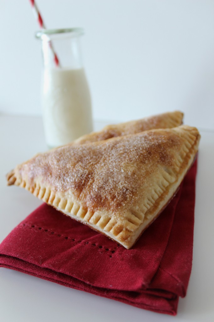 Flaky Apple Turnovers Made with Homemade Puff Pastry