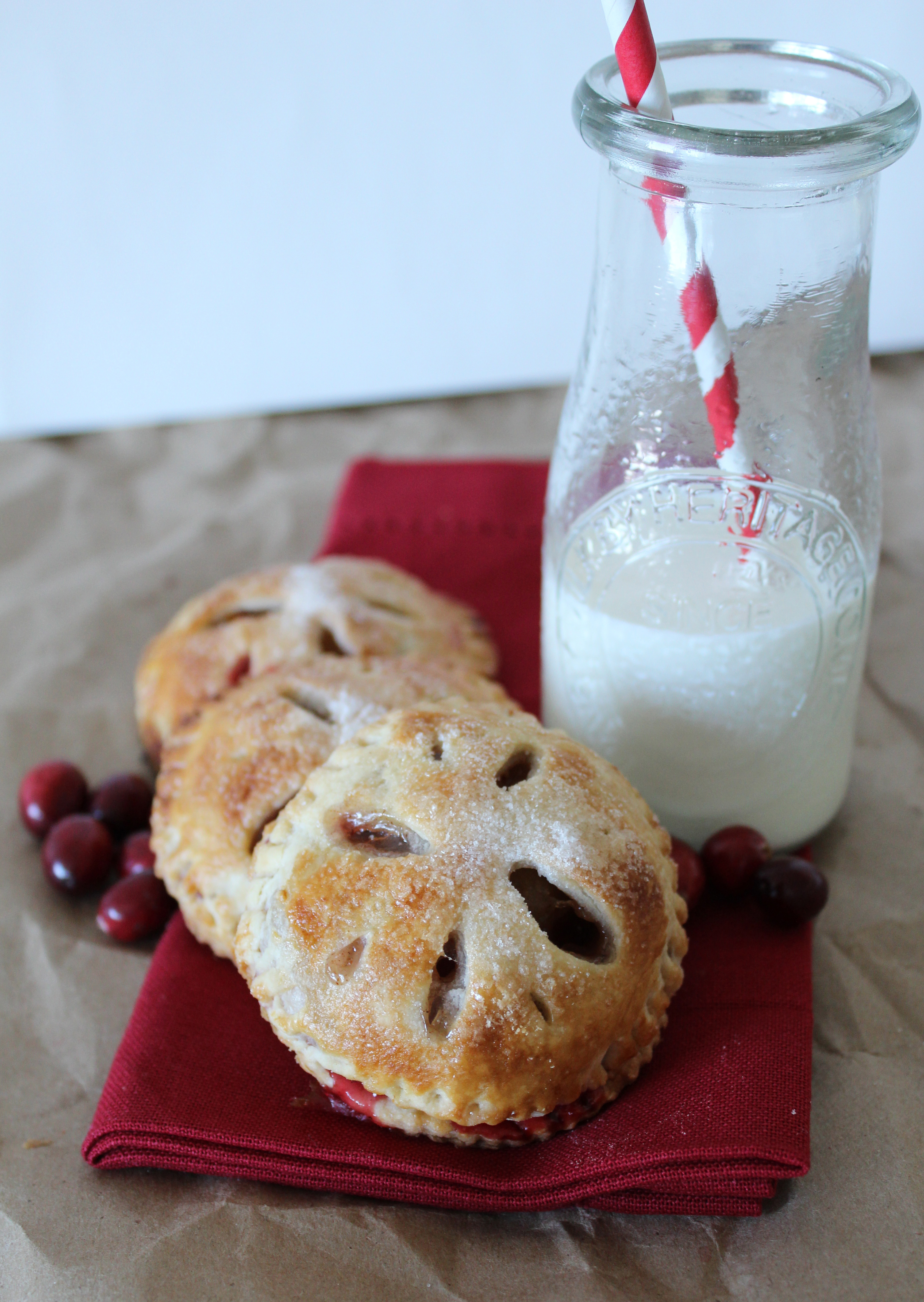 ... cranberry hand pies. Yes, another apple recipe, but I couldn't help
