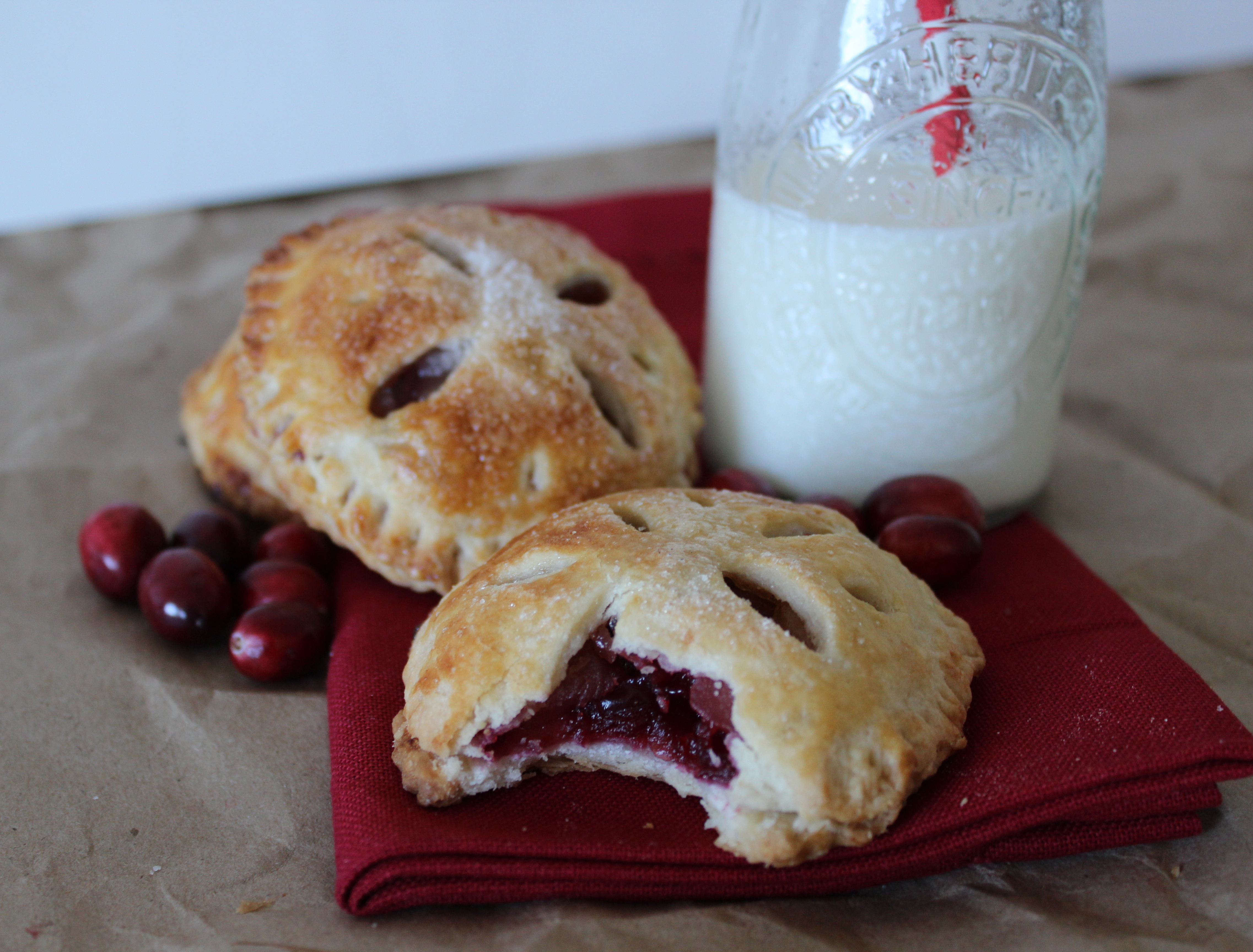 cranberry hand pies. Yes, another apple recipe, but I couldn't help ...