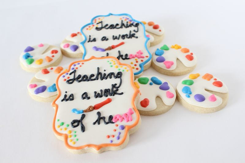 Cookies for Teacher Appreciation | The Crafting Foodie